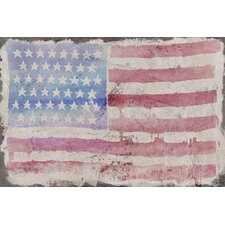 <strong>Jen Lee Art</strong> American Beauty Canvas Art