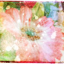Flower Fairytale Graphic Art on Canvas