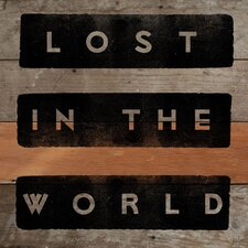 <strong>Jen Lee Art</strong> Lost In The World Reclaimed Wood - Douglas Fir Art