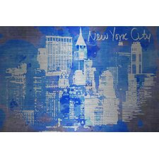 New York Skyline Aluminum Art