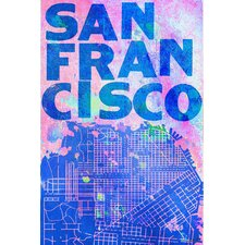 <strong>Jen Lee Art</strong> San Francisco Canvas Art