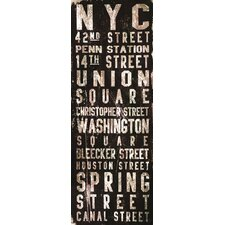 <strong>Jen Lee Art</strong> Union Square Canvas Art