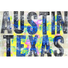 Austin Texas Canvas Art