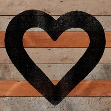 All Heart Reclaimed Wood - Douglas Fir Art