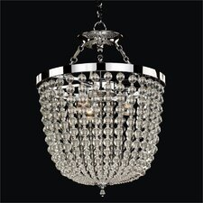 Arcadia 3 Light Crystal Chandelier