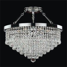 Spellbound 5 Light Semi-Flush Mount