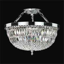 Lucia 5 Light Semi-Flush Mount