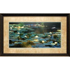 <strong>North American Art</strong> Leaving the Lilies Framed Art