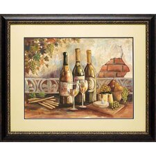 <strong>North American Art</strong> Bountiful Wine I Frame Art