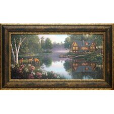 'Sweet Serenity' by Kim Norlien Framed Painting Print