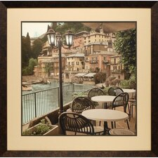 <strong>North American Art</strong> Porto Caffe, Italia Framed Art