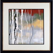 'Silver Birch II' by Laurie Maitland Framed Painting Print