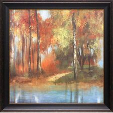 Indian Summer II by Allison Pearce Framed Painting Print