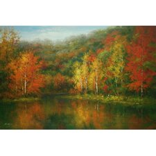 <strong>North American Art</strong> Indian Summer Canvas Wall Art