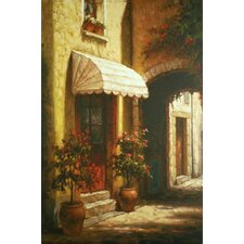 <strong>North American Art</strong> Sunny Entrance Canvas Wall Art