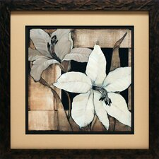 <strong>North American Art</strong> Dramatic Lily Grid II Wall Art