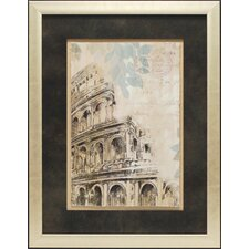 Architectural Study I by Allison Pearce Framed Graphic Art