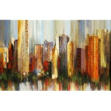 <strong>North American Art</strong> Metropolis Canvas Wall Art