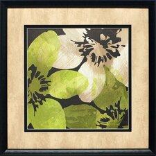Bloomer Tiles V by James Burghardt Framed Painting Print