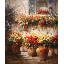 'Morning Glow' by Ian Cook Painting Print on Canvas