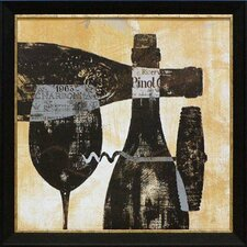 Wine Selection I by Daphne Brissonnet Framed Graphic Art