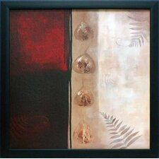 Russet Fern I by Laurie Maitland Framed Painting Print