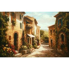 'Spring Awaits' by Steven Harvey Painting Print on Canvas