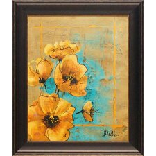 Artistic Poppy I by Patricia Pinto Framed Painting Print