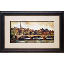 <strong>North American Art</strong> Paris Bridge I Wall Art