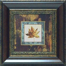 <strong>North American Art</strong> Autumn Leaf Square IV Wall Art