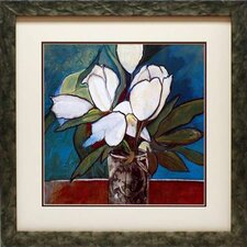 Crystal Tulips by Connie Tunick Framed Painting Print