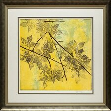 Fluttering Maple I by Jennifer Goldberger Framed Graphic Art