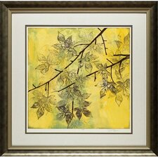 Fluttering Maple II by Jennifer Goldberger Framed Graphic Art