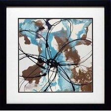 'Free Flow I' by Natasha Barnes Framed Painting Print