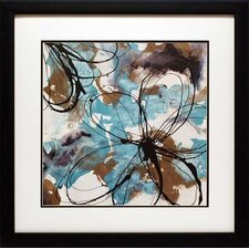 'Free Flow II' by Natasha Barnes Framed Painting Print