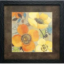 'Poppies I' by Allison Pearce Framed Painting Print