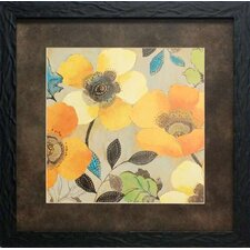Poppies II by Allison Pearce Framed Painting Print