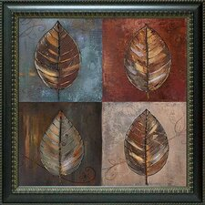 New Leaf Patch II by Patricia Pinto Framed Painting Print