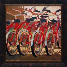 <strong>North American Art</strong> Retro Bikes Wall Art