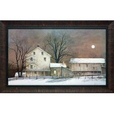 'Full Moon' by Ray Hendershot Framed Painting Print