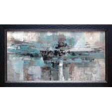 'Morning Fjord' by Silvia Vassileva Framed Painting Print