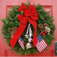 Classic Let Freedom Ring Wreath