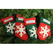 <strong>Worcester Wreath Inc.</strong> Scented Gift Smelloration Stocking and Mitten (Set of 4)