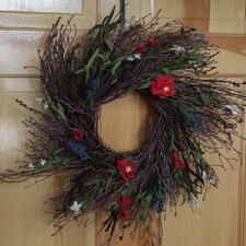 Patriotic Twig Wreath