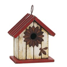 "<strong>Oddity Inc.</strong> 7"" x 7"" Hanging Birdhouse"