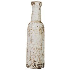 Crackle Ceramic Bottle Vase