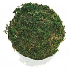 Decorative Moss Ball Sculpture