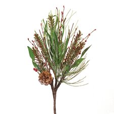 Exclusive! Lighted Pine Berry Stem