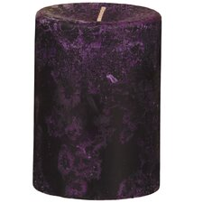 Weathered Wild Plum Pillar Candle (Set of 2)