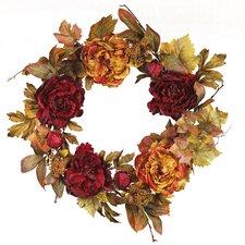 Peony Berry Wreath